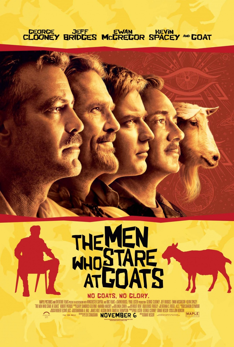 the men who stare at goats ending relationship