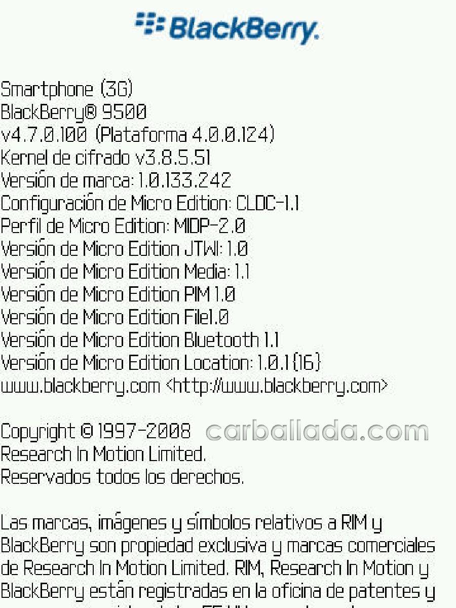 Ultima Version De Software Para Blackberry Storm 2