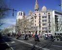 manifestacion guardarrailes asesinos barcelona