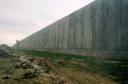 Muro en Qalqylya, Palestina