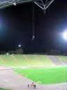 Rappel en el estadio olimpico
